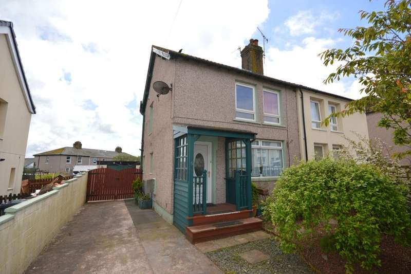 2 Bedrooms Semi Detached House for sale in Ennerdale Terrace, Whitehaven, CA28