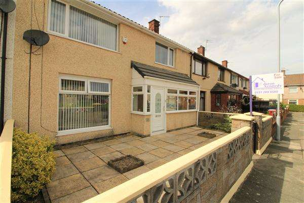 3 Bedrooms Terraced House for sale in Rhosesmor Close, Kirkby