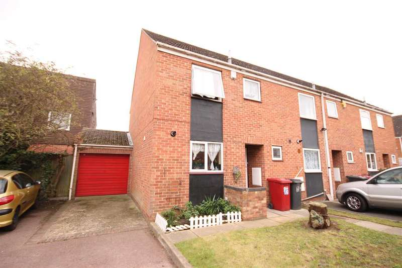 3 Bedrooms End Of Terrace House for sale in Rochfords Gardens, Slough