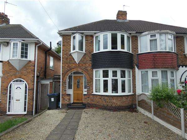 3 Bedrooms Semi Detached House for sale in Gilbertstone Avenue, South Yardley, Birmingham