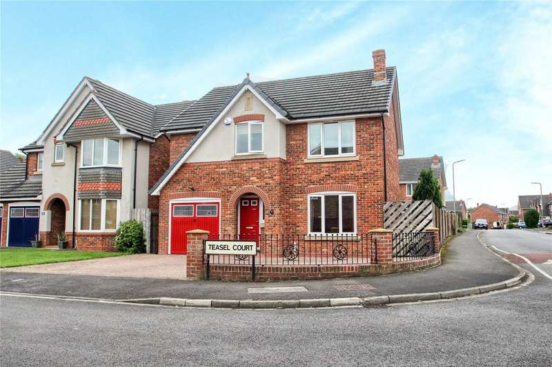 4 Bedrooms Detached House for sale in Teasel Court, Stockton-on-Tees