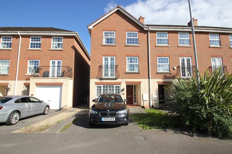 4 Bedrooms Town House for sale in Beaufort Square, Pengam Green, Cardiff, Cardiff. CF24 2UA