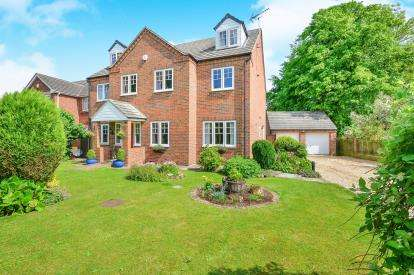 5 Bedrooms Detached House for sale in Park Mews, Skegby, Sutton-in-Ashfield