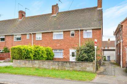 3 Bedrooms End Of Terrace House for sale in Seventh Avenue, Clipstone Village, Mansfield, 51 Seventh Ave