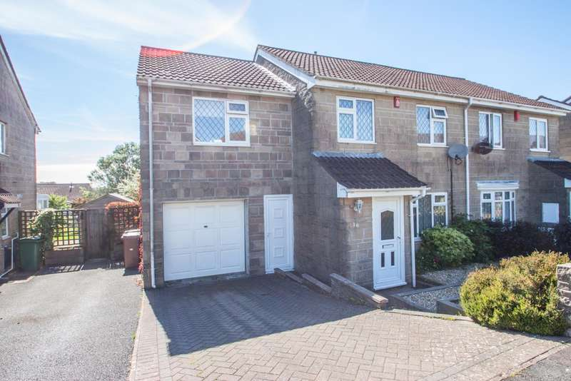 4 Bedrooms Semi Detached House for sale in Birdcage Farm, Plymouth