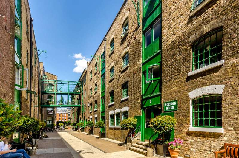 2 Bedrooms Flat for sale in Maidstone Buildings Mews, Borough, SE1