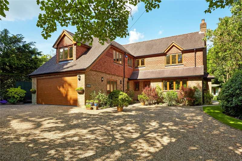 5 Bedrooms Detached House for sale in Off Beacon Road, Crowborough, East Sussex, TN6