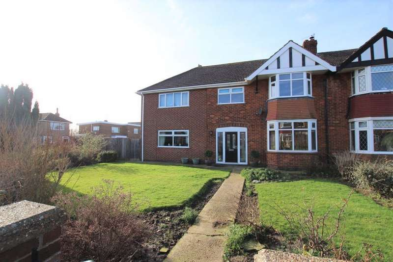 5 Bedrooms Semi Detached House for sale in HOWLETT ROAD, CLEETHORPES