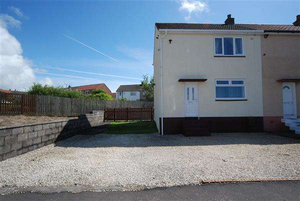 2 Bedrooms End Of Terrace House for sale in Burns Avenue, Saltcoats