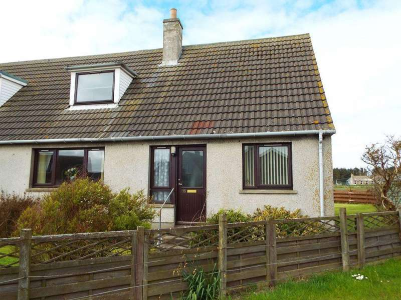 3 Bedrooms Semi Detached House for sale in 16 Dwarwick Place, Dunnet