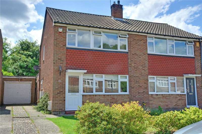 3 Bedrooms Semi Detached House for sale in Appledore Crescent, Sidcup, DA14