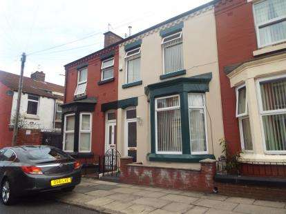 3 Bedrooms Terraced House for sale in Maxton Road, Liverpool, Merseyside, England, L6