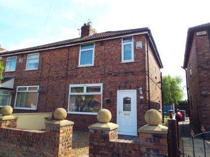 3 Bedrooms Semi Detached House for sale in Forest Road, Sutton Manor, St. Helens, Merseyside, WA9