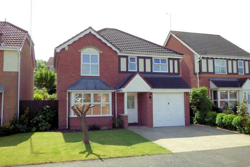 4 Bedrooms Detached House for sale in Greenway, Burton-on-Trent