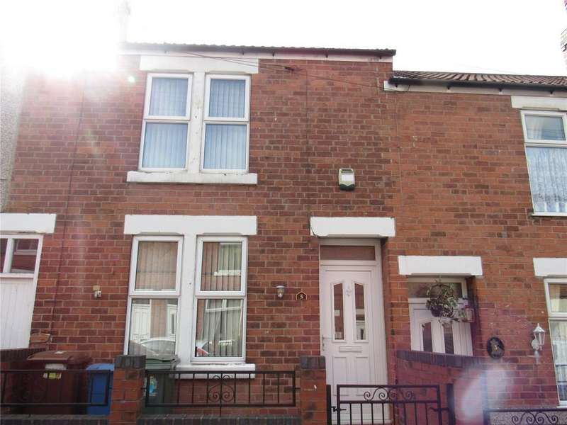 2 Bedrooms Terraced House for sale in Bentinck Street, Mansfield, Nottinghamshire, NG18