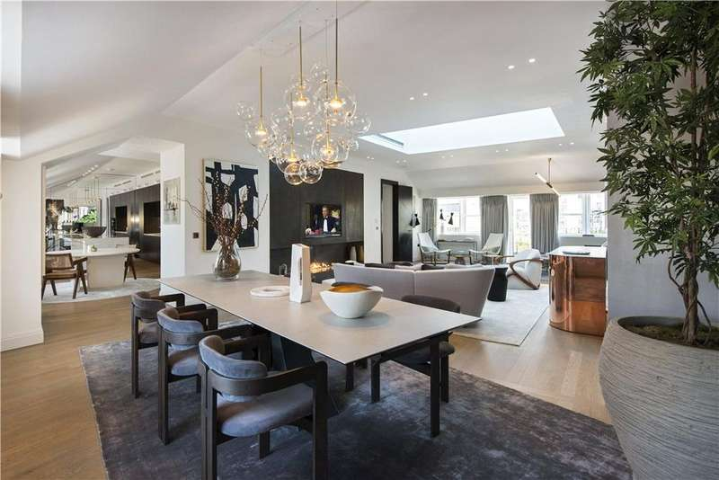 3 Bedrooms Flat for sale in The Wedgwood, The Park Crescent, Portland Place, London, W1B