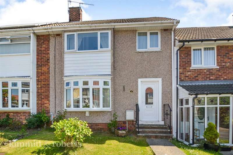 3 Bedrooms Terraced House for sale in Thornes Close, Peterlee, Co Durham, SR8