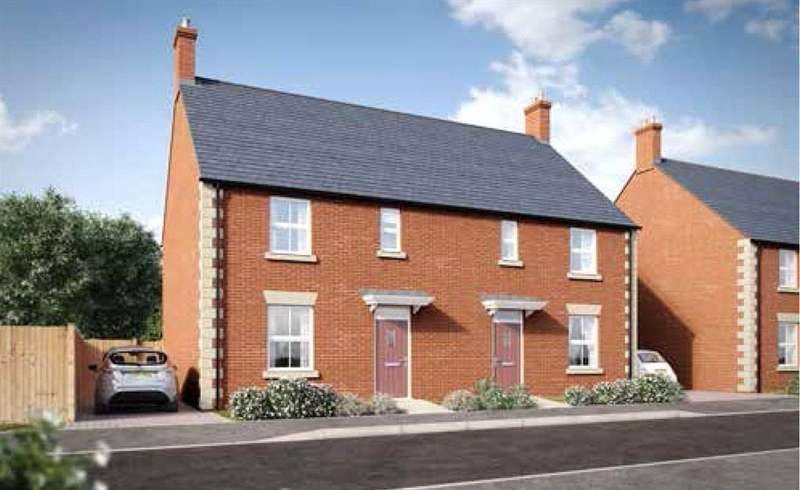 3 Bedrooms Semi Detached House for sale in Little Rushes, Kings Sutton, Banbury, Oxfordshire, OX17