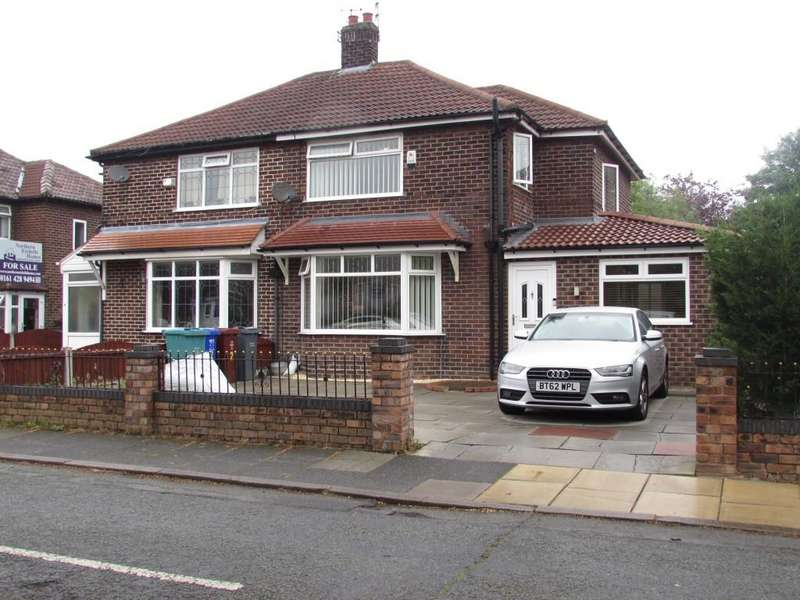 3 Bedrooms Semi Detached House for sale in Norleigh Road, Northenden, Manchester