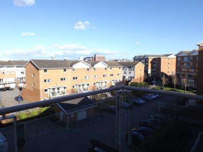 2 Bedrooms Flat for sale in Taliesin Court, Century Wharf, Cardiff Bay, Cardiff