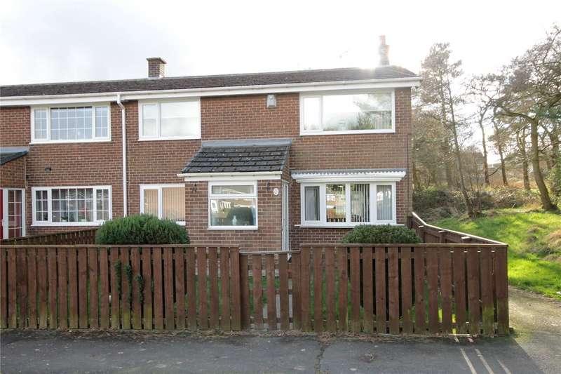 3 Bedrooms End Of Terrace House for sale in Castledene Road, Delves Lane, Consett, DH8