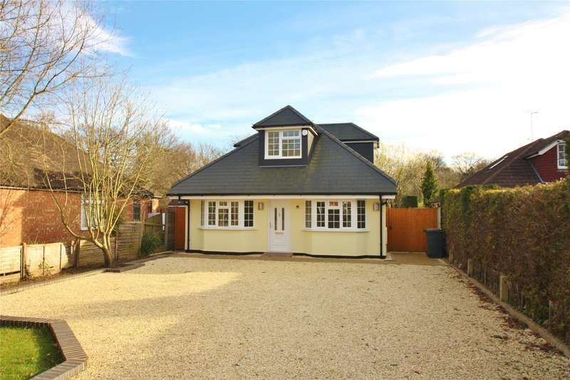 5 Bedrooms Detached Bungalow for sale in Chertsey Road, Chobham, Woking, Surrey, GU24