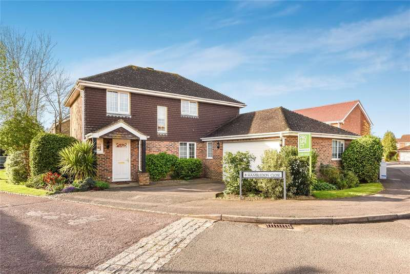 4 Bedrooms Detached House for sale in Hambledon Close, Lower Earley, Reading, Berkshire, RG6