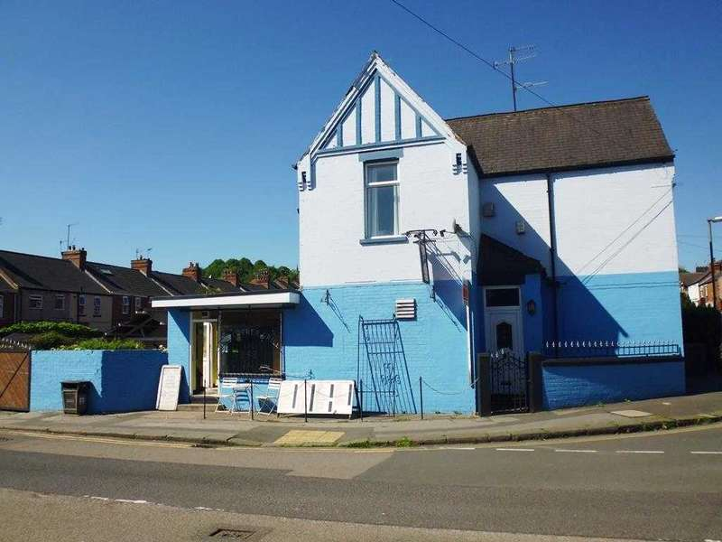 3 Bedrooms Commercial Property for sale in Corner Grill, 12 Infirmary Road, Chesterfield