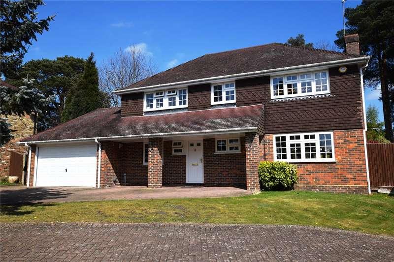 4 Bedrooms Detached House for sale in Youlden Drive, Camberley, Surrey, GU15