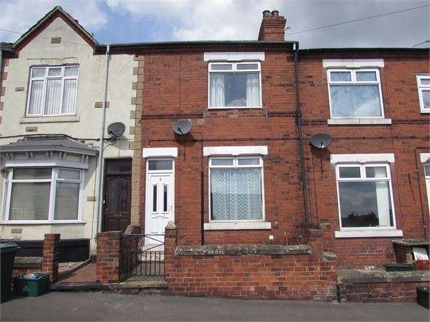Terraced House for sale in Ivanhoe Road, Conisbrough, Doncaster, DN12 3JT