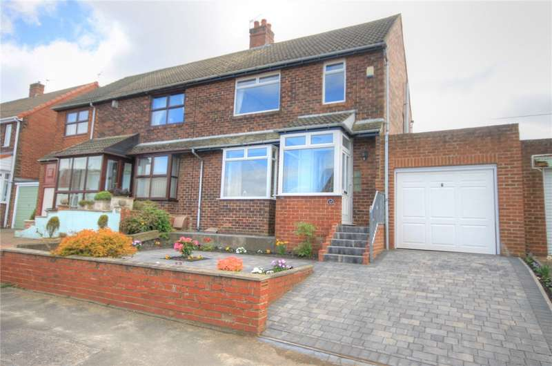 3 Bedrooms Semi Detached House for sale in Coniscliffe Road, Stanley, Durham, DH9