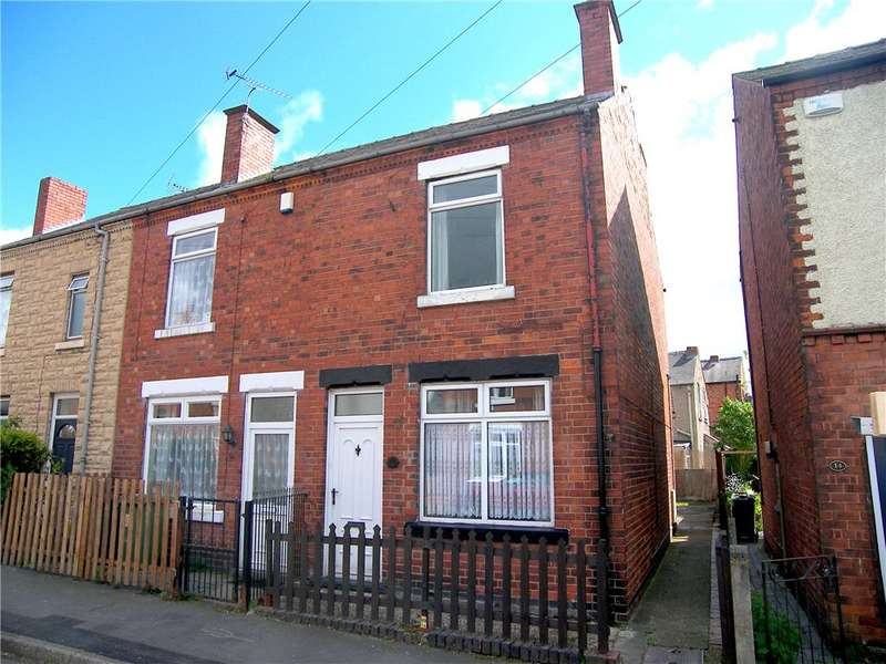 2 Bedrooms End Of Terrace House for sale in Albert Street, Leabrooks, Alfreton, Derbyshire, DE55