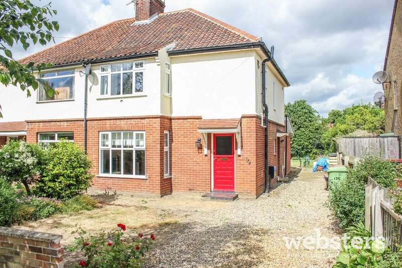 3 Bedrooms Semi Detached House for sale in Trafford Road, Norwich NR1