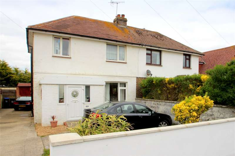 3 Bedrooms Semi Detached House for sale in Brighton Road, Lancing, West Sussex, BN15