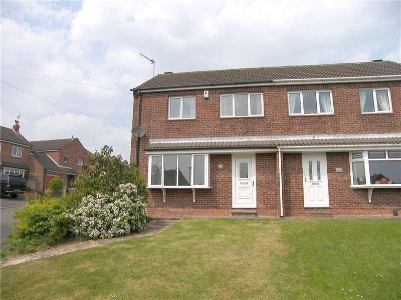 3 Bedrooms Semi Detached House for sale in Elmhurst Avenue, Broadmeadows, Alfreton, Derbyshire, DE55