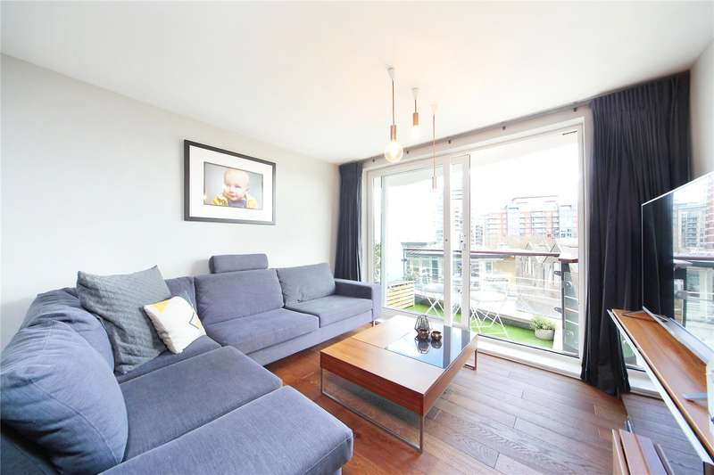 2 Bedrooms Flat for sale in Dolphin House, Smugglers Way, Wandsworth, London, SW18