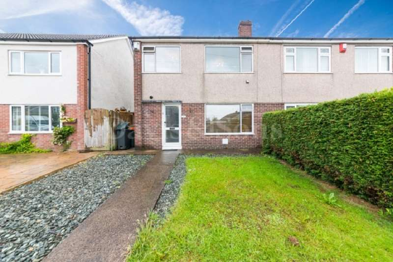 3 Bedrooms Semi Detached House for sale in Channel View, Bassaleg, Newport. NP10 8PJ