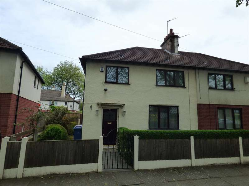 3 Bedrooms Semi Detached House for sale in Vanbrugh Crescent, Liverpool, Merseyside, L4