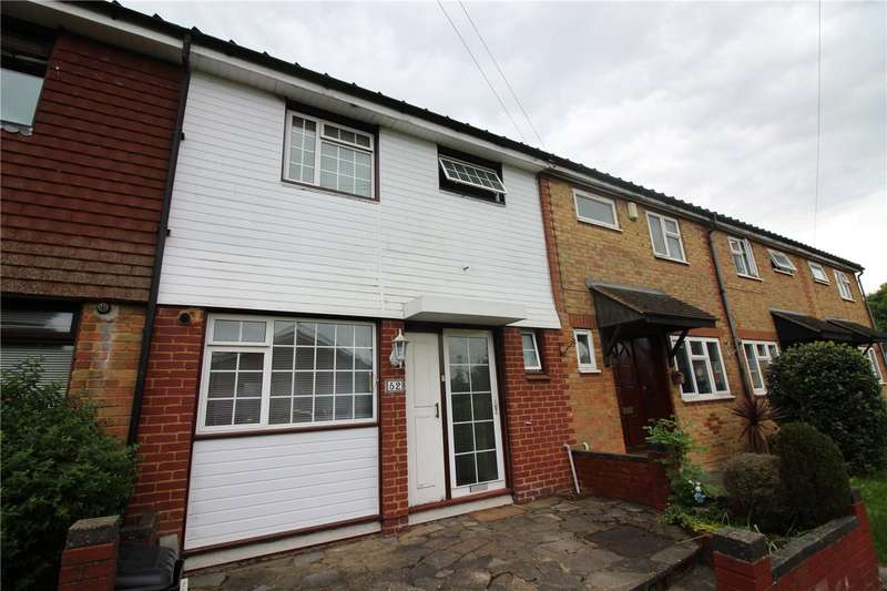 3 Bedrooms Terraced House for sale in Byron Avenue, Borehamwood, Hertfordshire, WD6