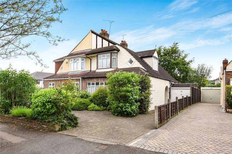 3 Bedrooms Semi Detached House for sale in Heath Drive, Theydon Bois, Epping, Essex, CM16