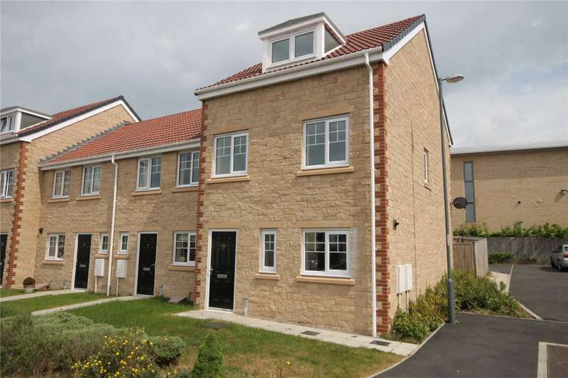 3 Bedrooms End Of Terrace House for sale in Donnington Place, Moorside, Consett, DH8