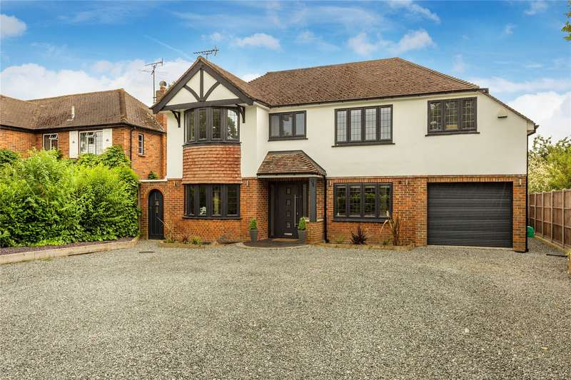 5 Bedrooms Detached House for sale in Woodham Lane, Woodham, Surrey, KT15