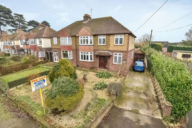 4 Bedrooms Semi Detached House for sale in New Hythe Lane, Larkfield