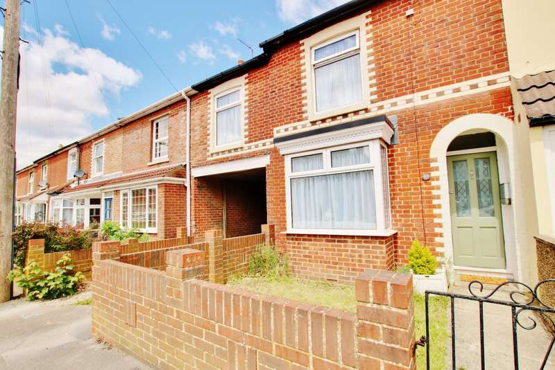 3 Bedrooms End Of Terrace House for sale in Swift Road, Woolston