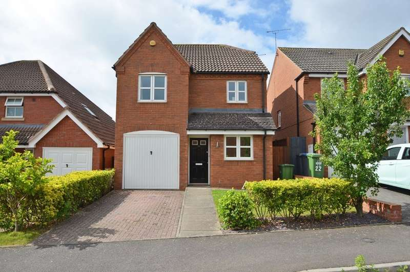 3 Bedrooms Detached House for sale in Devonshire Close, Cawston, Rugby