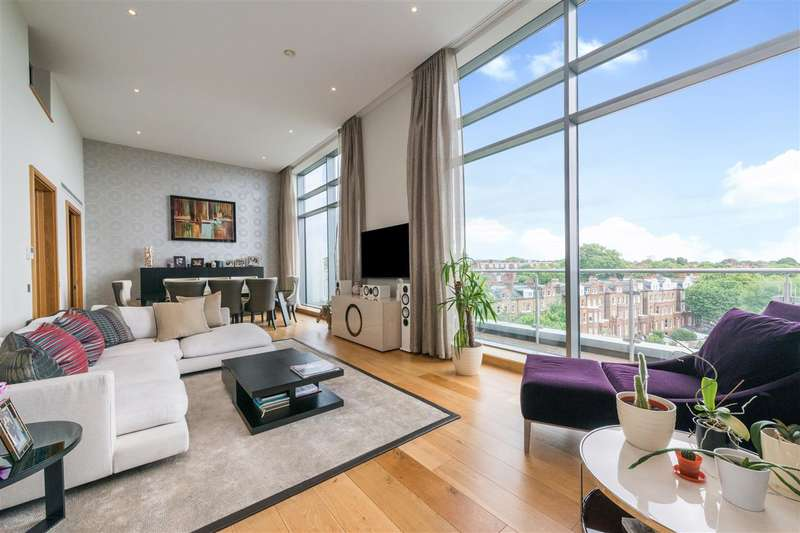 3 Bedrooms Apartment Flat for sale in Melrose Apartments, Winchester Road, London, NW3