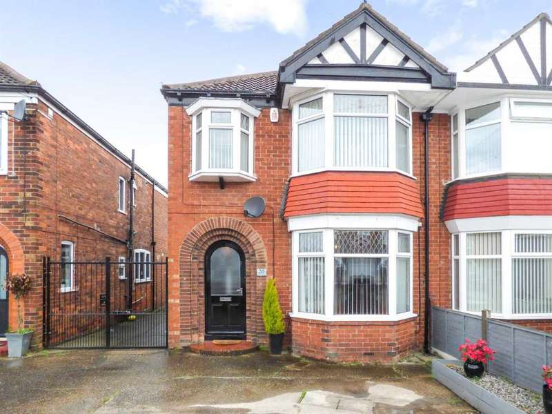 3 Bedrooms Semi Detached House for sale in Birklands Drive, Hull