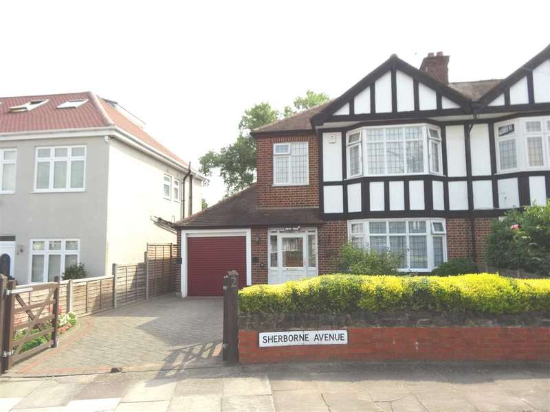 3 Bedrooms Semi Detached House for sale in Sherbourne Avenue, Norwood Green, Southall