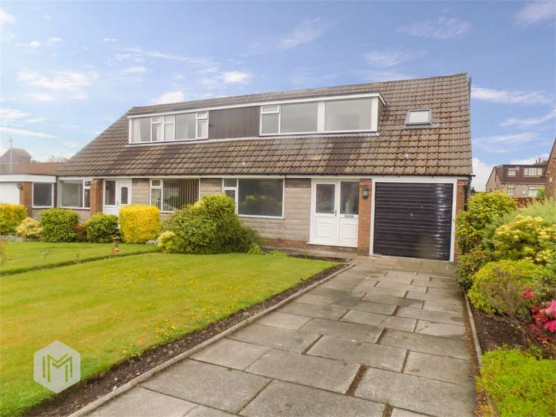 3 Bedrooms Semi Detached House for sale in Rutherford Drive, Over Hulton, Bolton, Lancashire