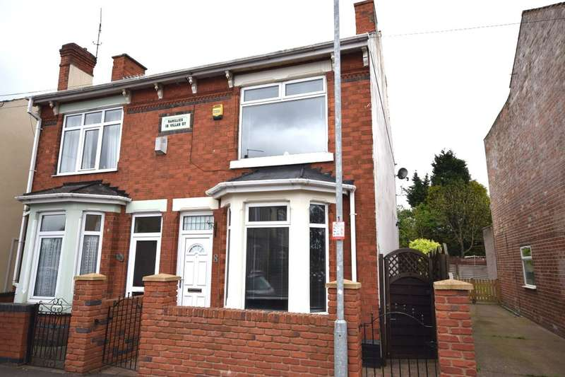 3 Bedrooms Semi Detached House for sale in Marlborough Road, Kirkby-In-Ashfield, Nottingham, NG17